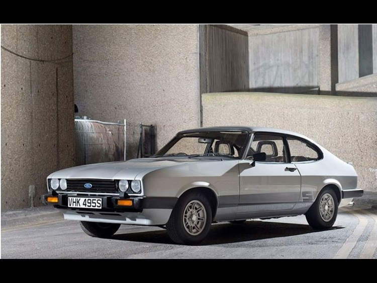 Super cars and clics » Iconic Ford Capri used in The ...
