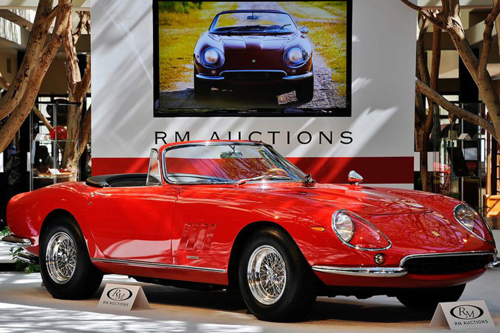 Super Cars And Classics Up And Coming Auctions - Classic cars 2017