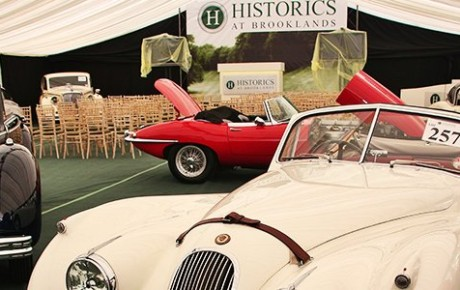 Supercars and Classics for Sale at Brooklands