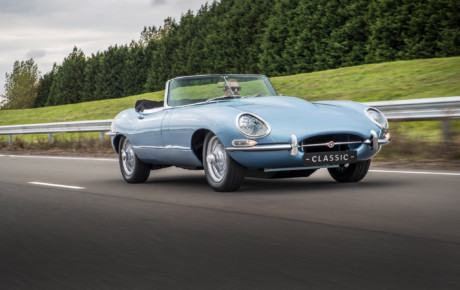 A Electric Jaguar E-type !!!