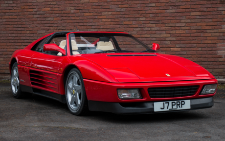 Silverstone's Auction on 18 May in conjunction with the Ferrari Owner's Club