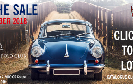 Great Auction on the Horizon: The Porsche Sale 2018