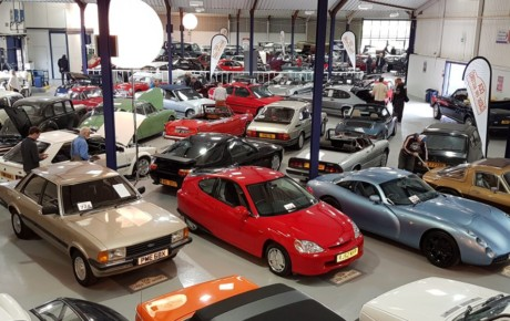 Upcoming Classic car auctions in the UK