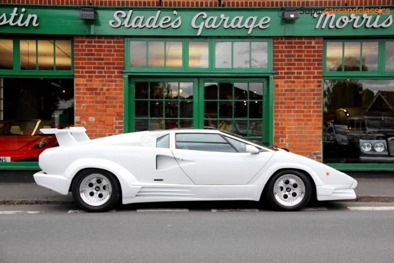 Super Cars And Classics Slades 1989 Lamborghini Countachv12 25th